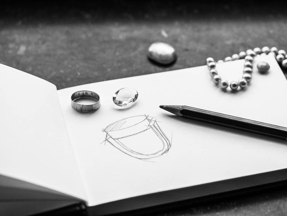 Smykkefremstilling - Frie hænder. Design dine egne smykker.